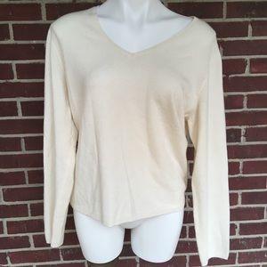100% Cashmere Charter Club Women XL Sweater